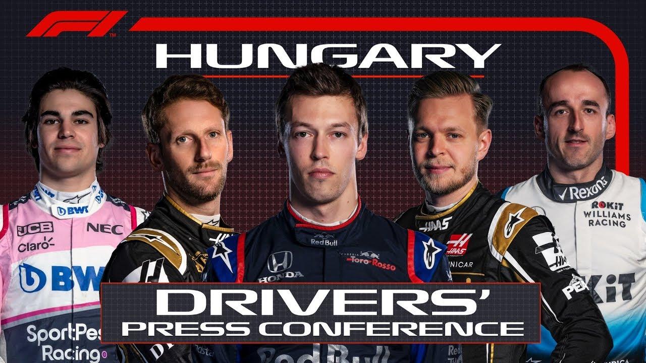 Ungari GP neljapäevane sõitjate pressikonverents