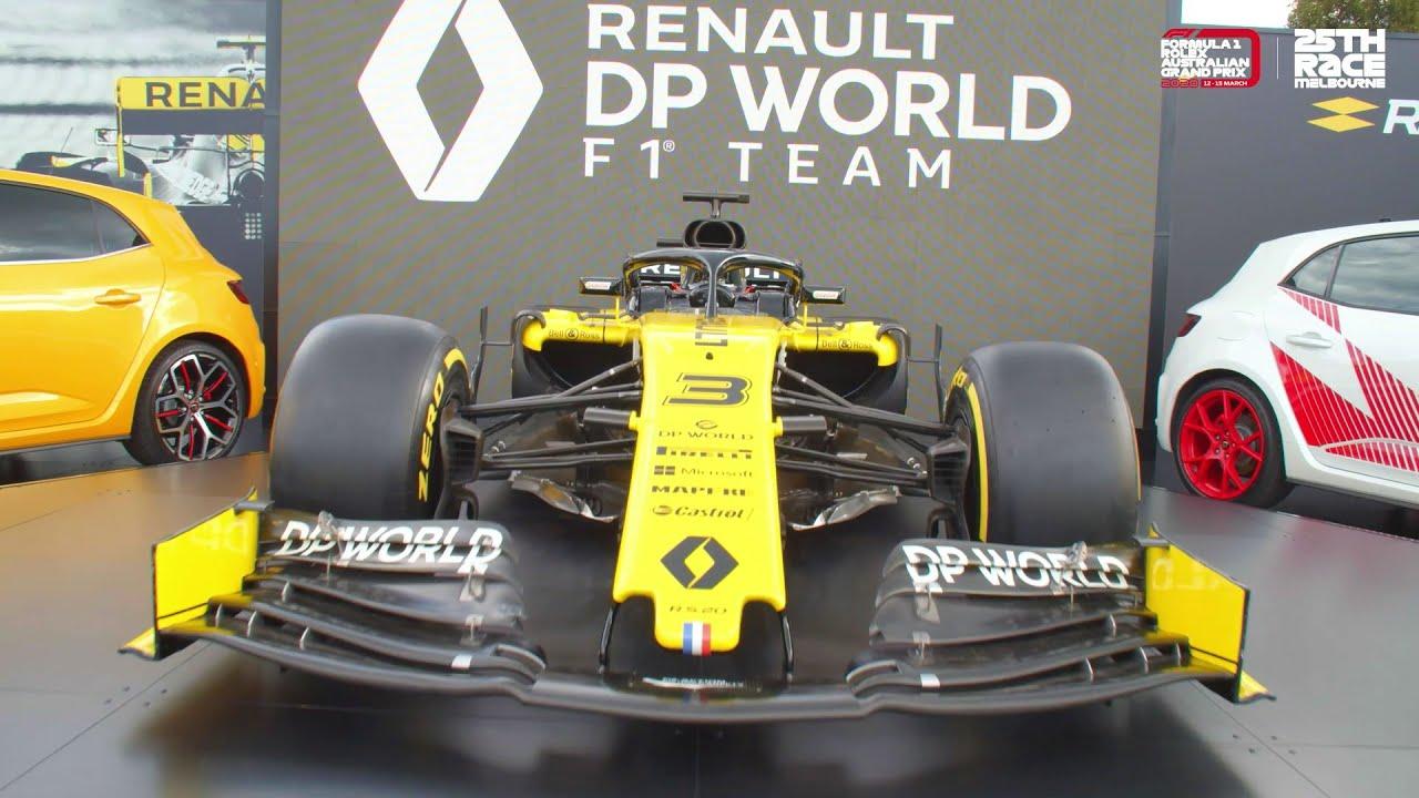 Renault esitles oma 2020 hooaja võistlusmasina värvilahendust
