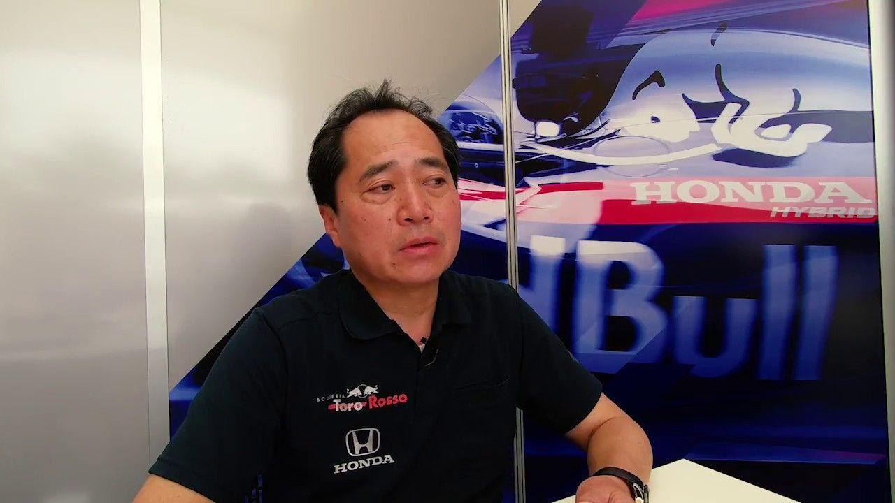 Bahreini GP 2018 - eelvaade, Honda, Toyoharu Tanabe