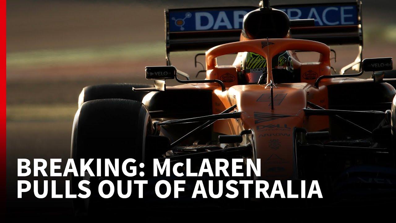 Austraalia GP 2020 - eelvaade, McLaren ei osale Austraalias, Autosport