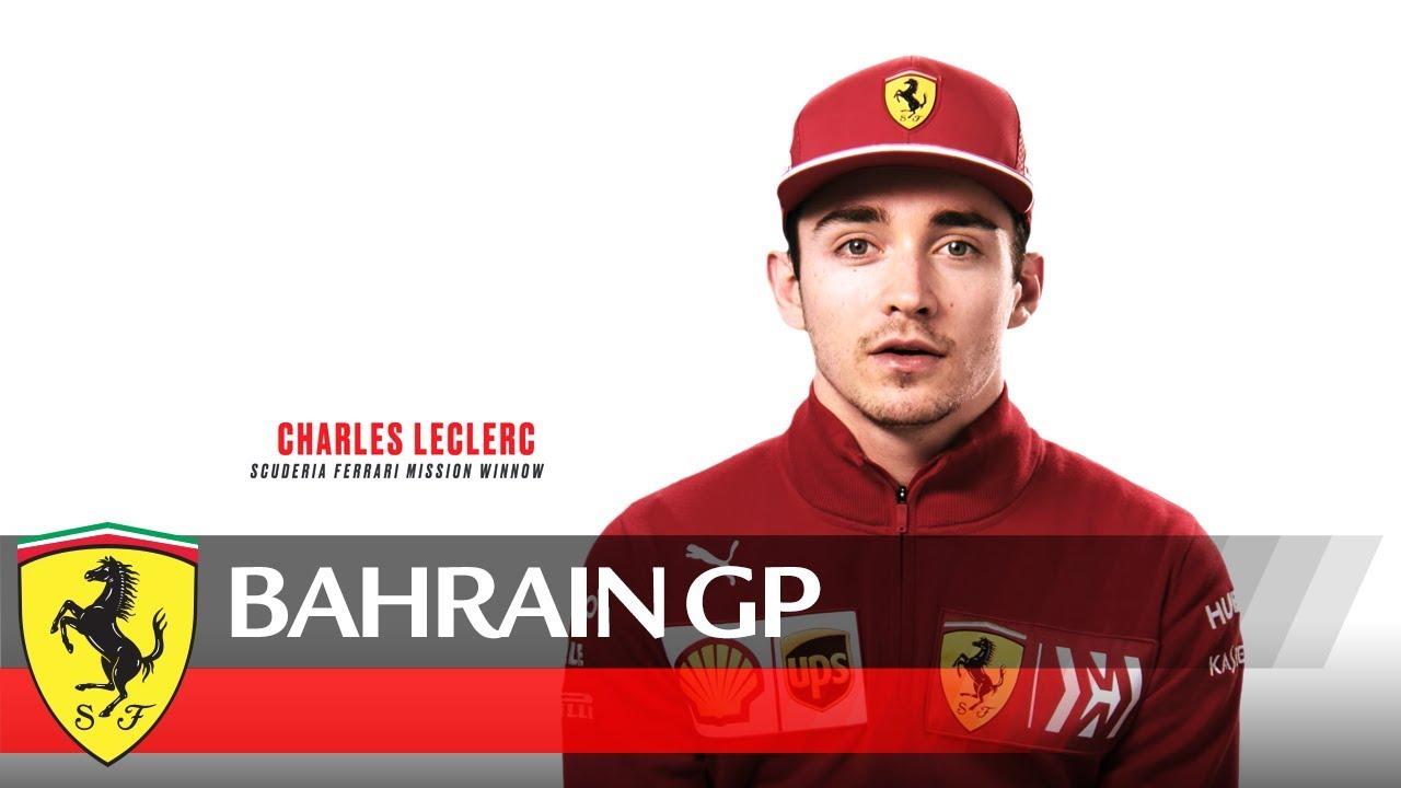 Bahreini GP 2019 - eelvaade, Leclerc, Ferrari