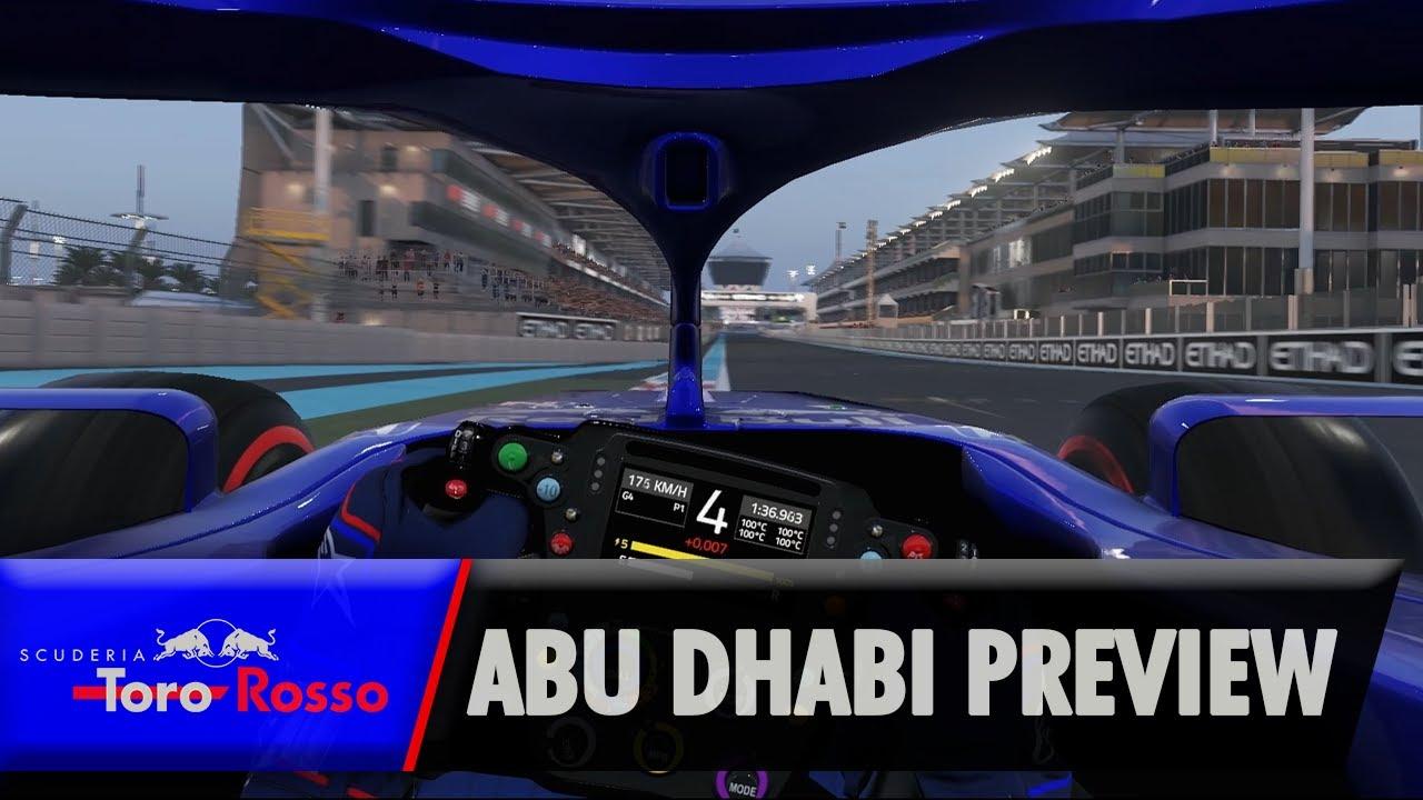 Araabia Ühendemiraatide GP 2019 - eelvaade, Gasly ja Toro Rosso
