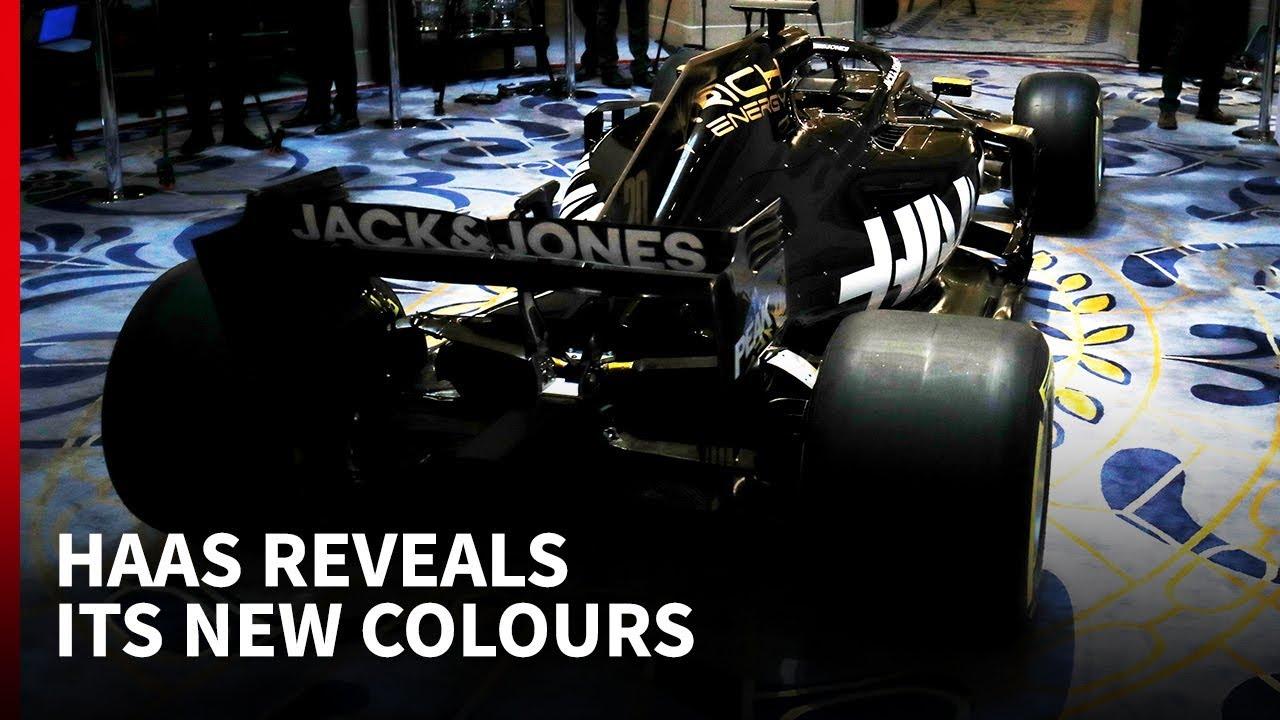 Hooaeg 2019 - Haas esitlemas oma uue hooaja värvilahendust