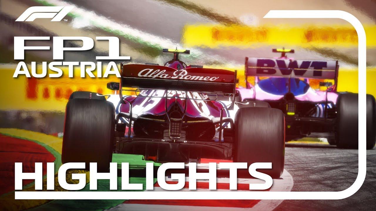Austria GP 2019 - esimene vabatreening, ülevaade, F1