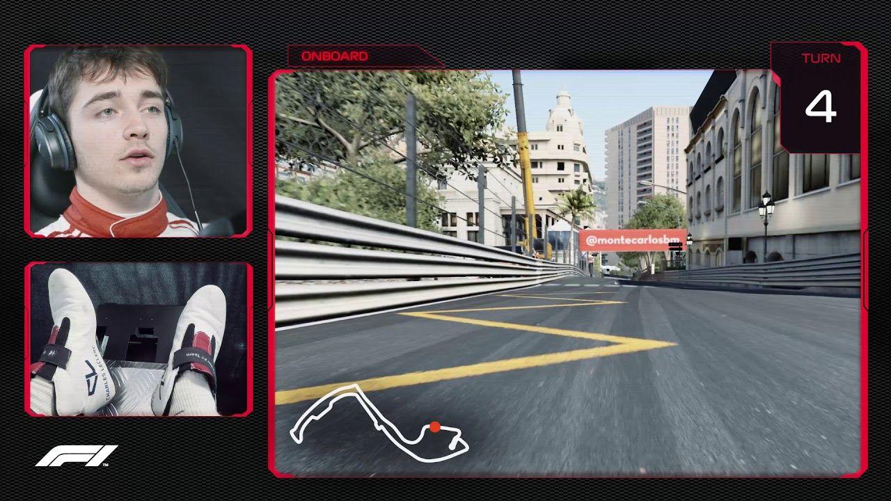 Monaco GP 2018 - eelvaade, Charles Leclercvirtuaalring, F1