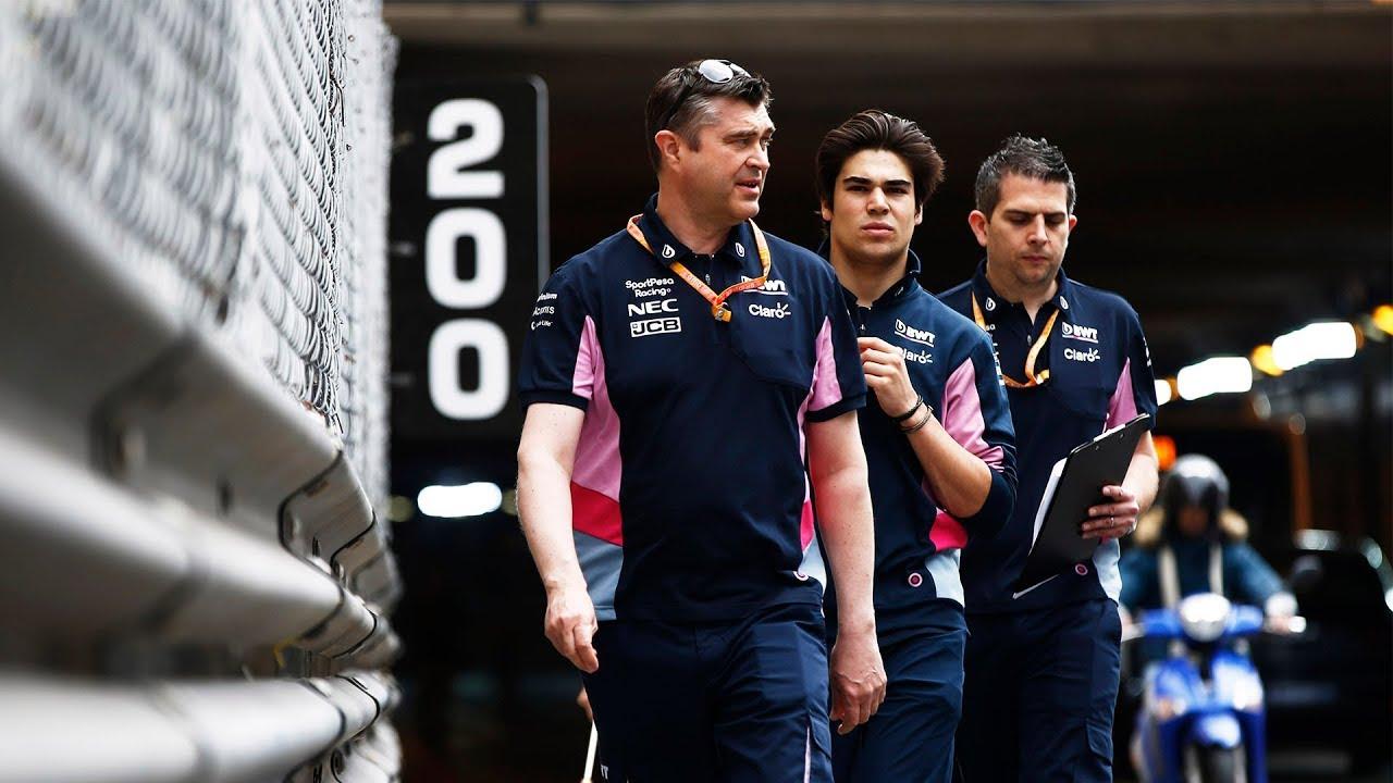 Monaco GP 2019 - jalutuskäik rajaääres, Racing Point
