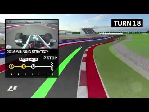 USA GP 2017 - eelvaade, virtuaaltuur, Formula1