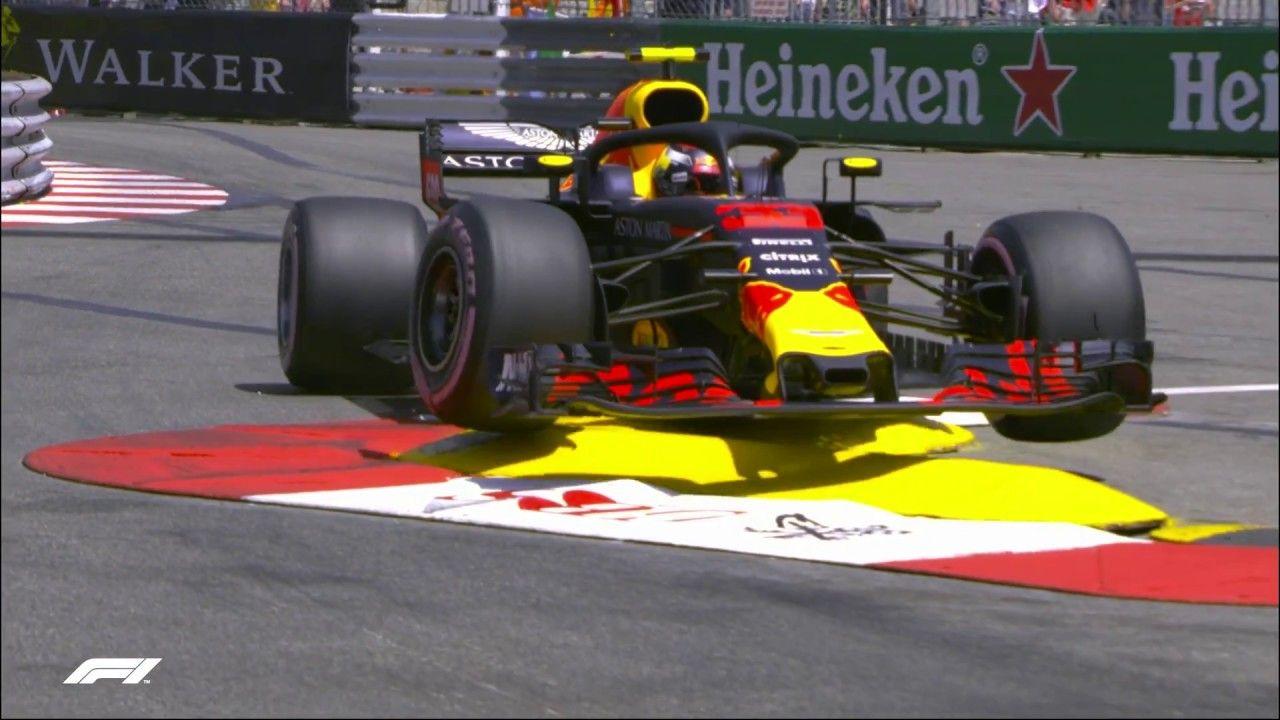 Monaco GP 2018 - kolmas vabatreening, Verstappeni seinasõit, F1