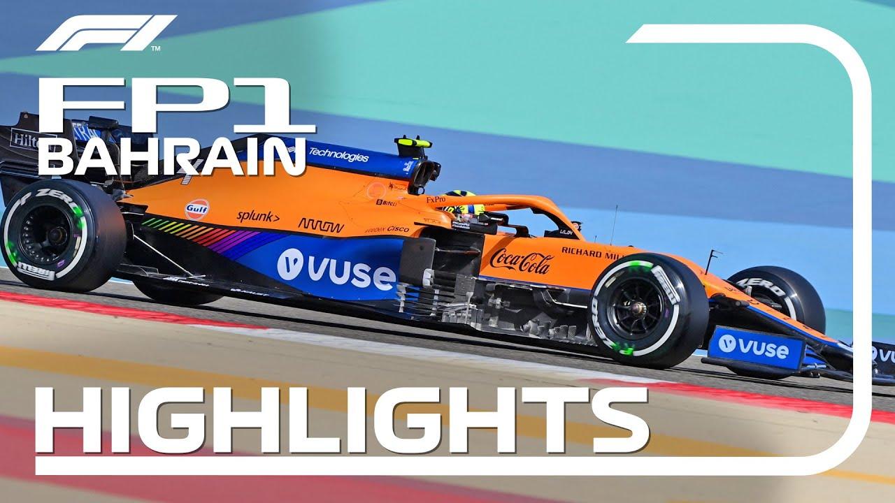 Bahreini GP 2021 esimese vabatreeningu kokkuvõte