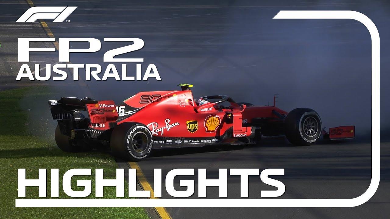 Austraalia GP 2019 - teine vabatreening, ülevaade, Formula1