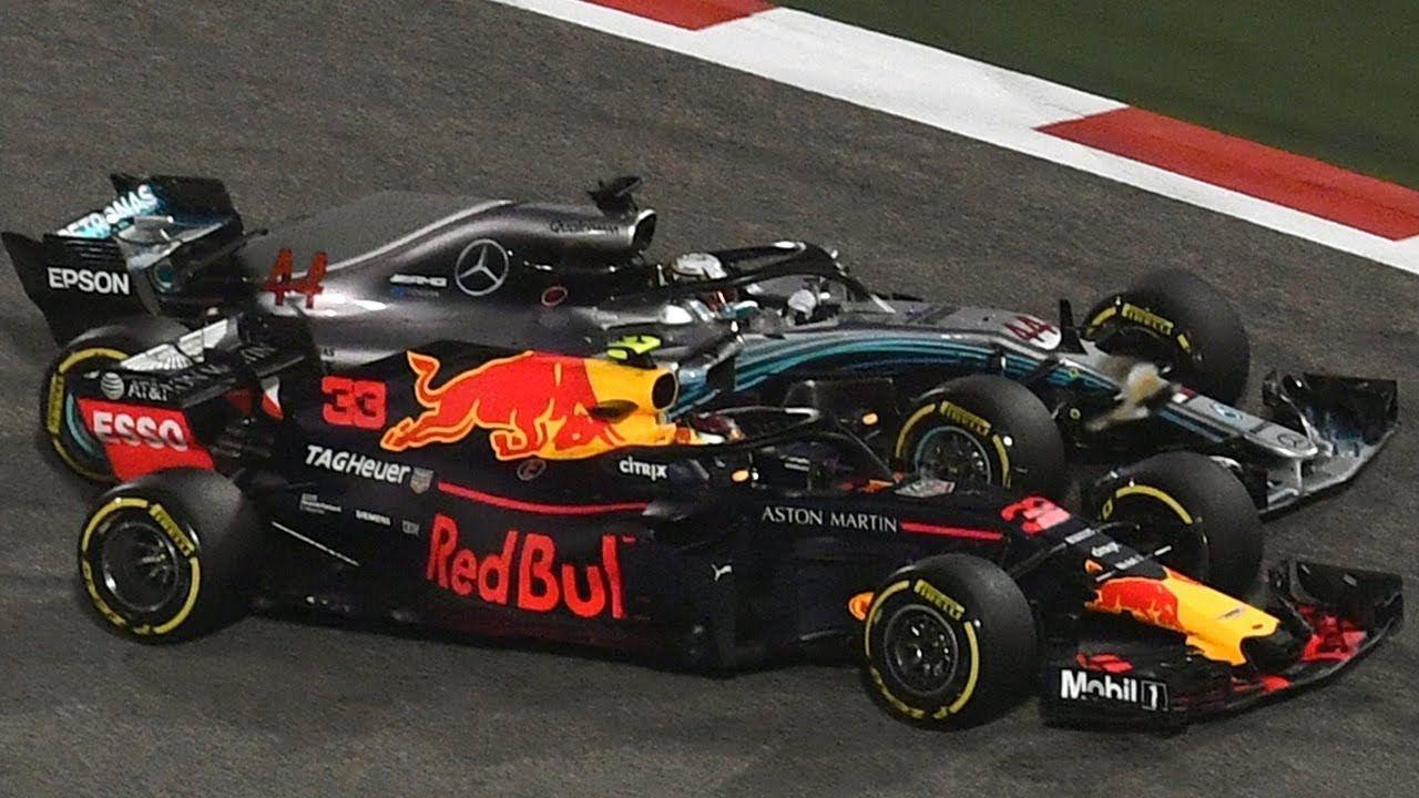 Bahreini GP 2018 - sõit, Verstappeni ja Hamiltoni kokkupõrge