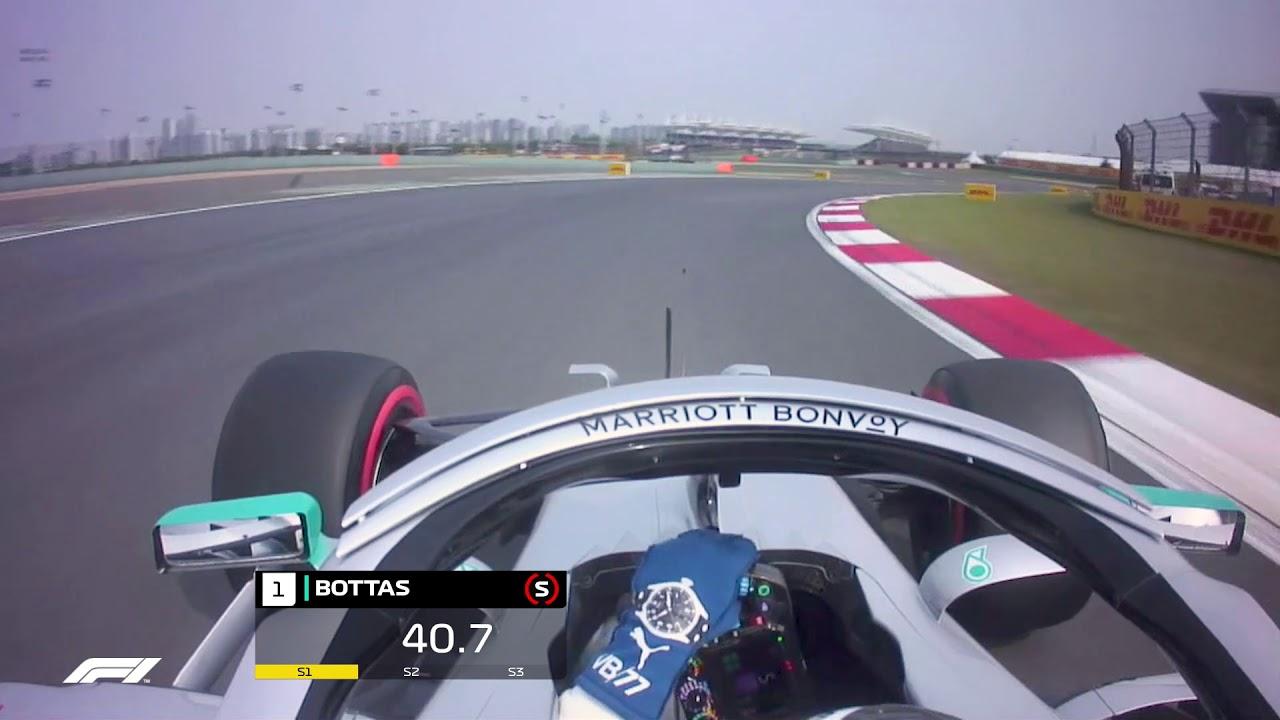 Hiina GP 2019 - kvalifikatsioon, Bottase kvalifikatsioonisõidu võidu ring