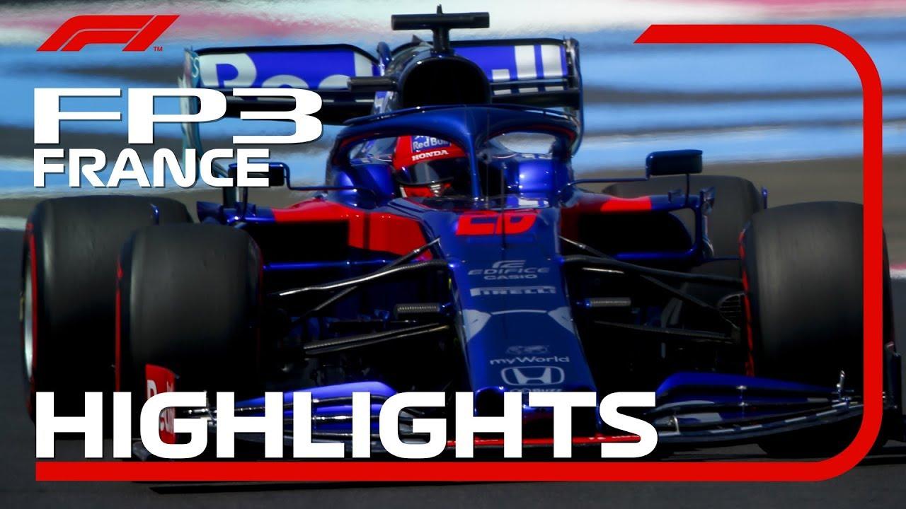 Prantsusmaa GP 2019 - kolmas vabatreening, ülevaade, F1