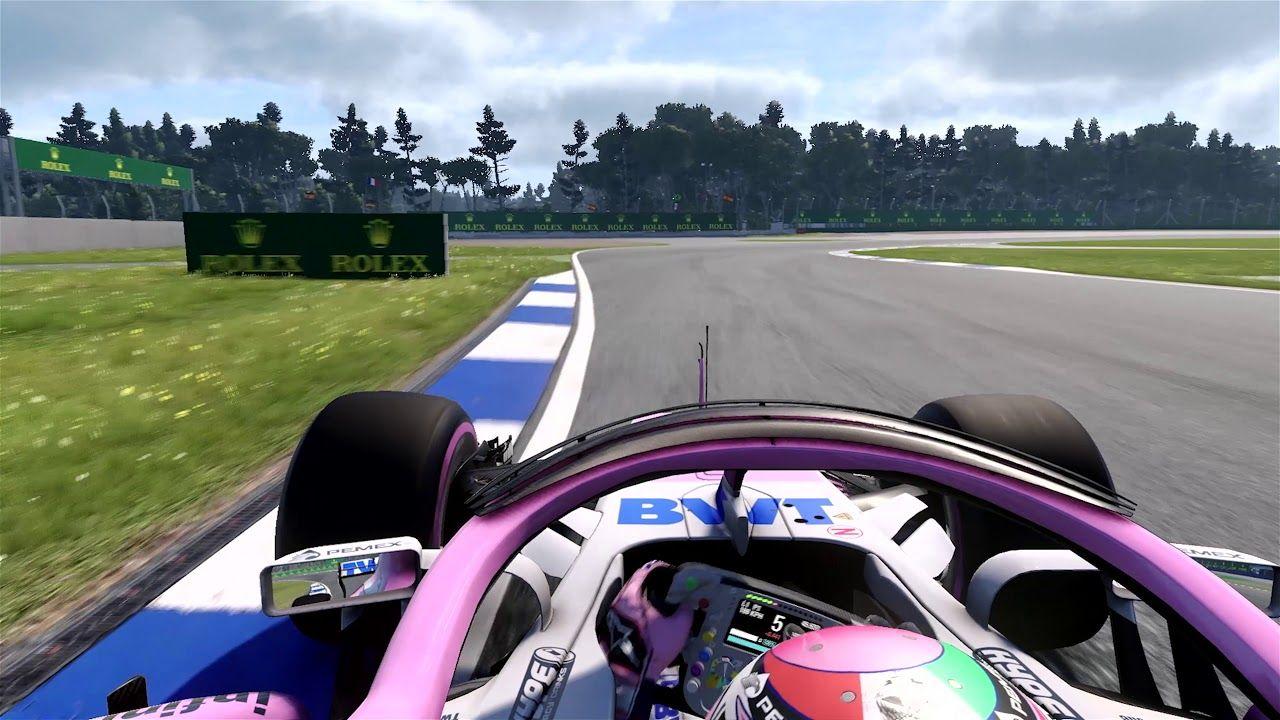 Saksamaa GP 2018 - eelvaade, virtuaalring, Force India