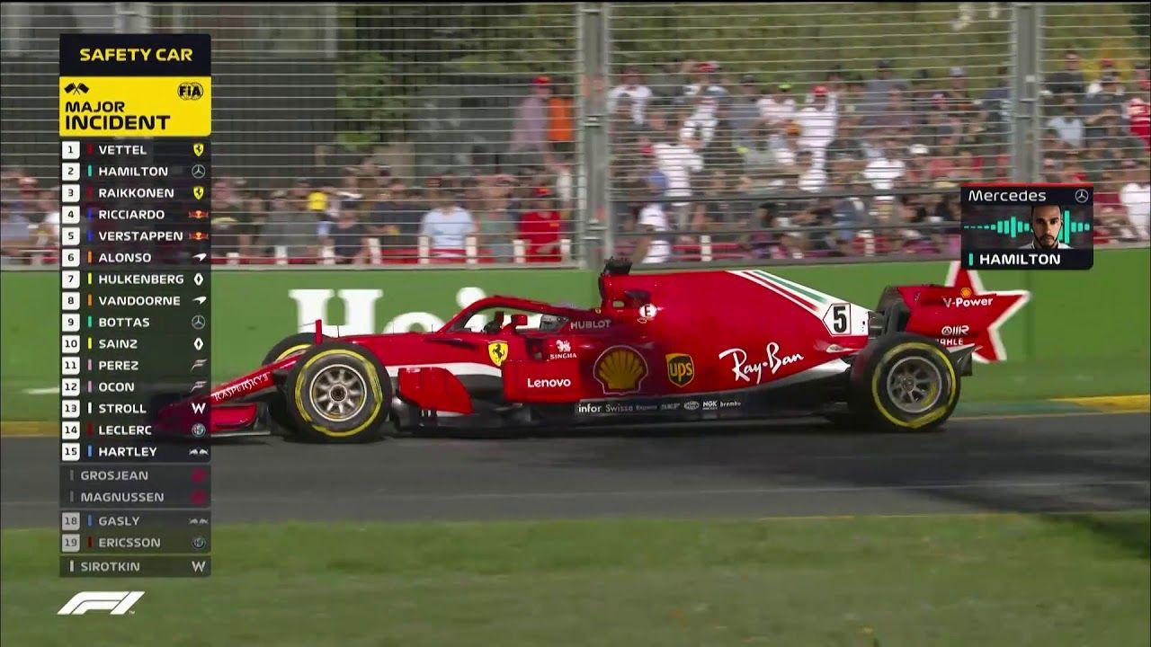 Austraalia GP 2018 - sõit, ülevaade, F1