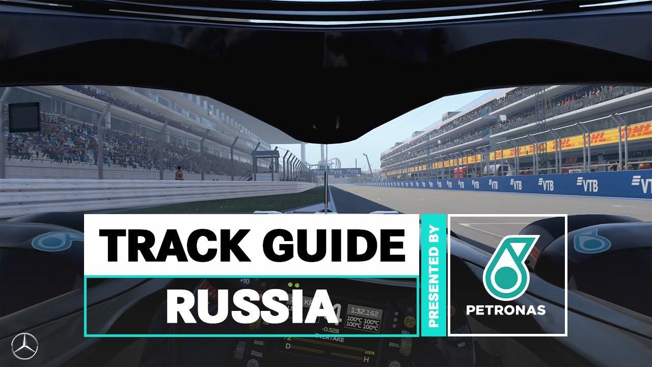 Mercedese Venemaa GP eelvaade