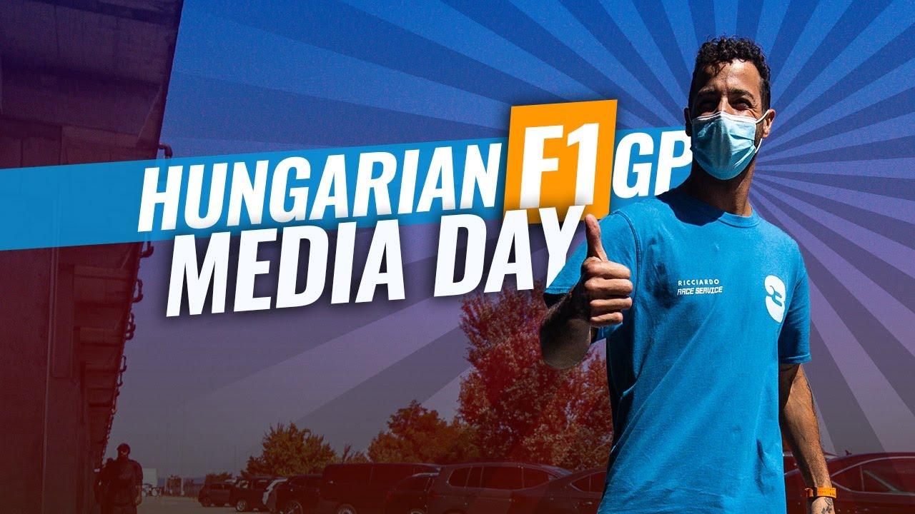 Ungari GP 2021 meediapäev