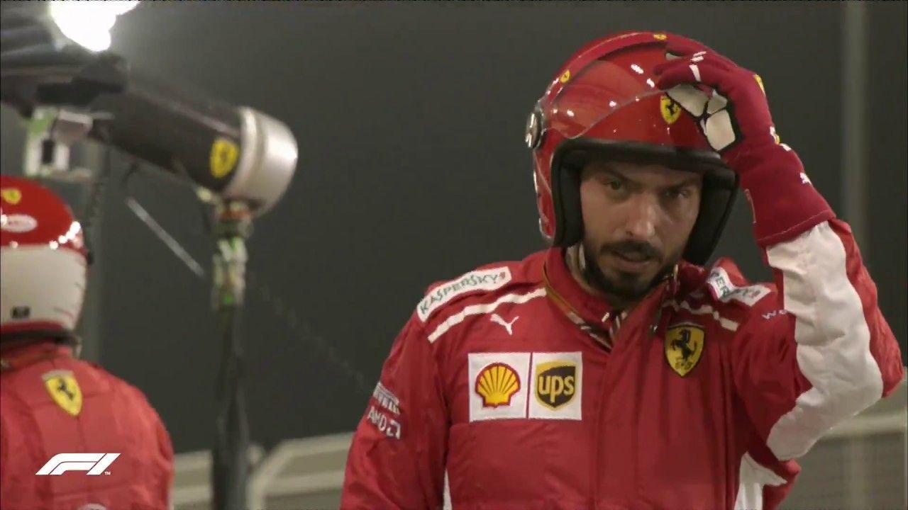 Bahreini GP 2018 - sõit, Ferrari boksipeatuse ebaõnnestumine