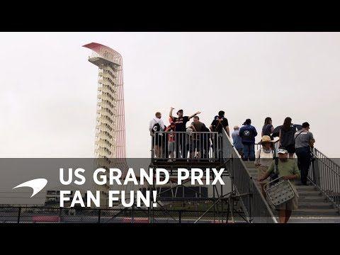 USA GP 2017 - fännid