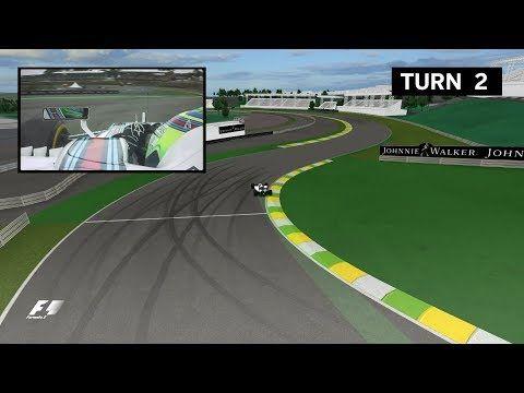 Brasiilia GP 2017 - eelvaade, virtuaaltuur, Formula1