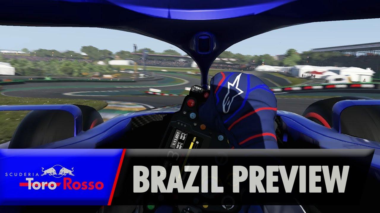 Brasiilia GP 2019 - eelvaade, Kvyat ja Toro Rosso