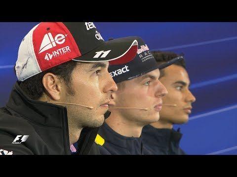 Mehhiko GP 2017 - neljapäevane sõitjate pressikonverents, Formula1