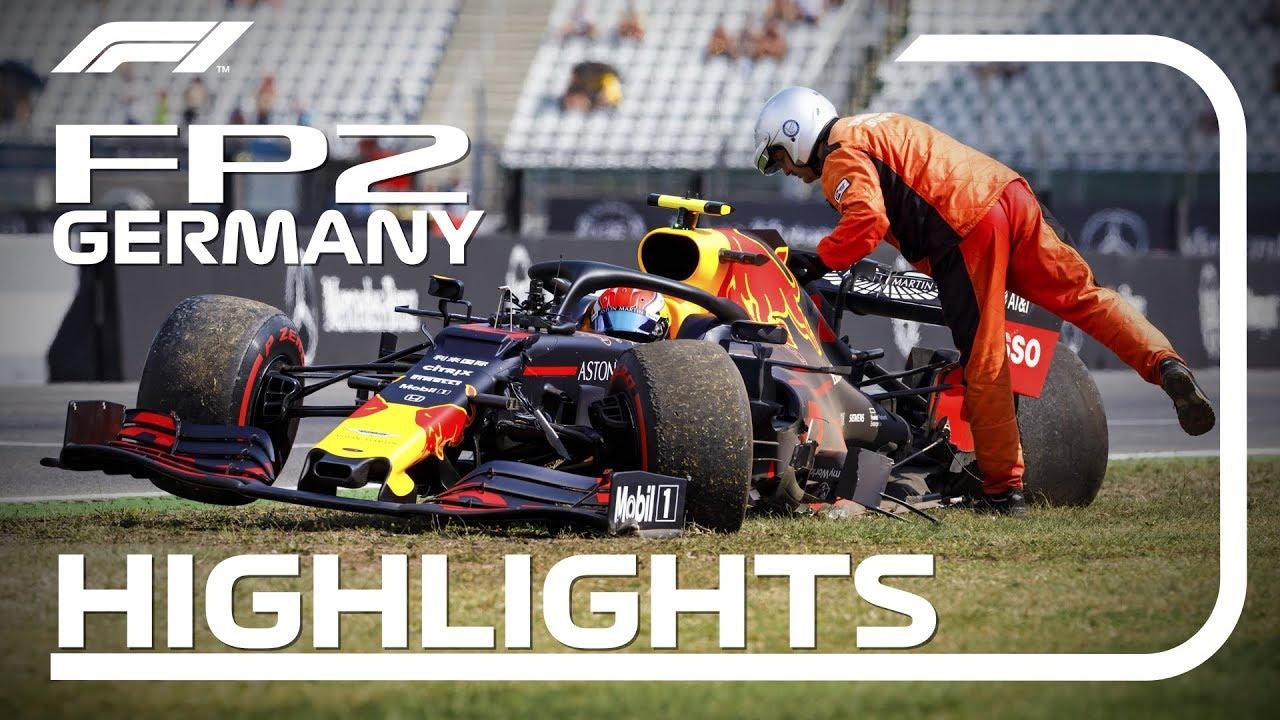 Saksamaa GP 2019 - teine vabatreening, ülevaade, Formula 1