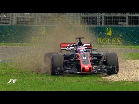 Austraalia GP 2017 - teine vabatreening, kõrghetked