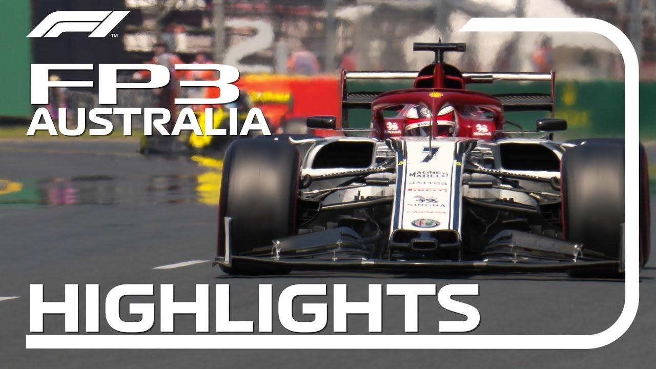 Austraalia GP 2019 - kolmas vabatreening, ülevaade, Formula1