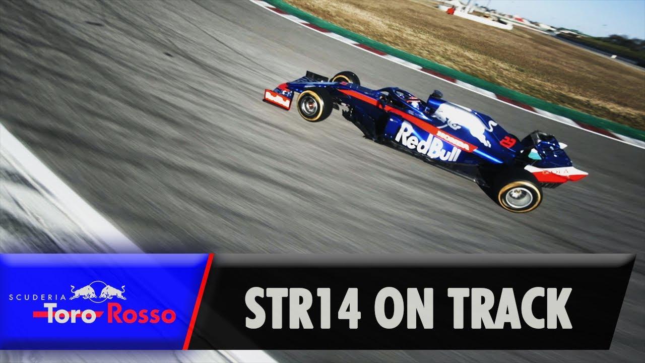 Hooaeg 2019 - Toro Rosso STR14 rajal