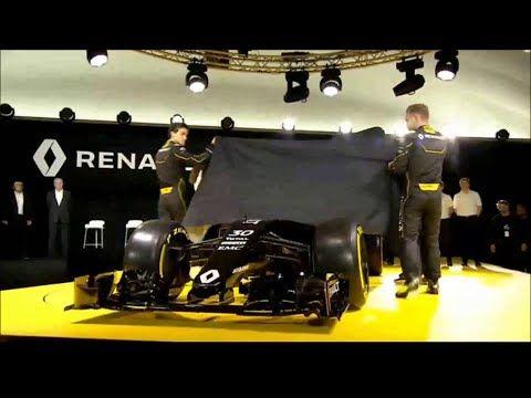 Hooaeg 2016 - Renault RS16 esitlus