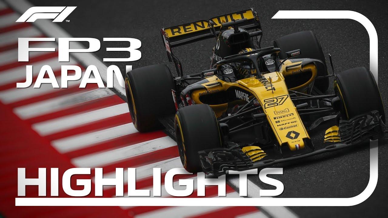 Jaapani GP 2018 - kolmas vabatreening, ülevaade, F1