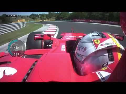 Ungari GP 2017 - kvalifikatsioon, Vetteli ring