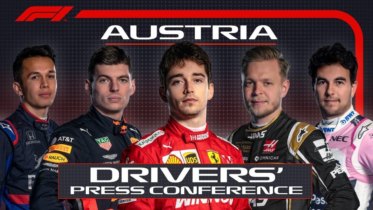 Austria GP neljapäevane sõitjate pressikonverents