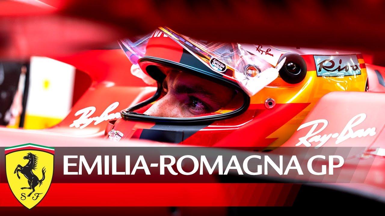 Ferrari eelvaade 2021. aasta Emilia Romagna GP-le