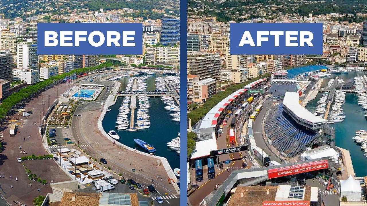 Vaata millised muudatused Monaco GP eel toimuvad selles linnriigis