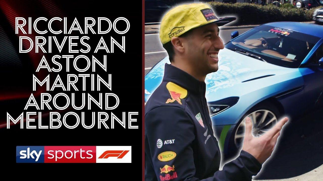 Austraalia GP 2018 - Aston Martin ning Ricciardo ja Brundle