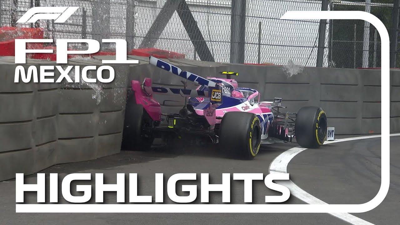 Mehhiko GP 2019 - esimene vabatreening, ülevaade, F1