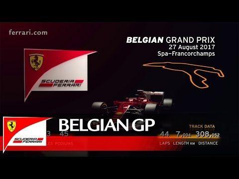 Belgia GP 2017 - eelvaade, Ferrari