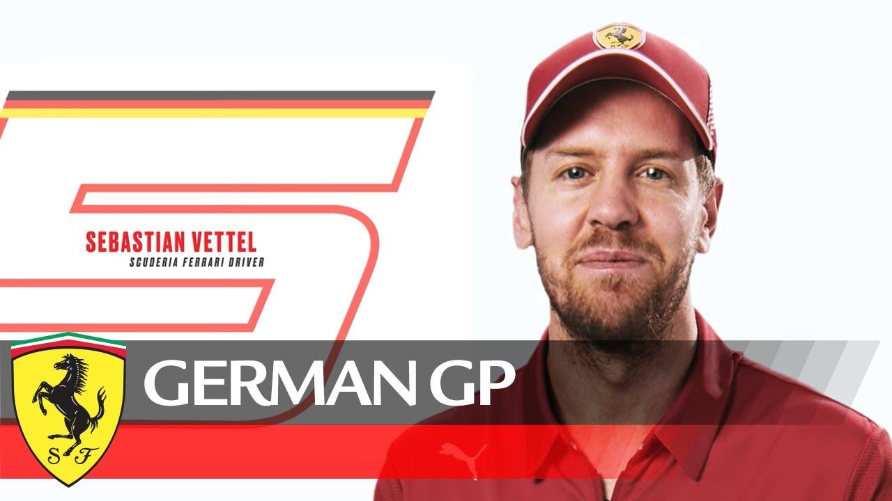 Sebastian Vettel tutvustab tema kodumaal peetavat vormel-1 võistlust