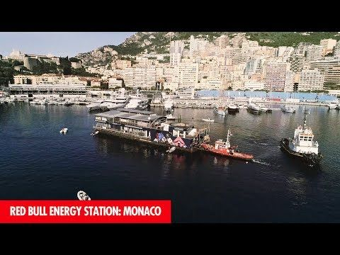 Monaco GP 2017 - eelvaade, Red Bull, The Red Bull Energy Station