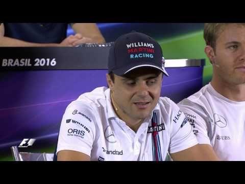 Brasiilia GP 2016 - eelvaade, sõitjate pressikonverents