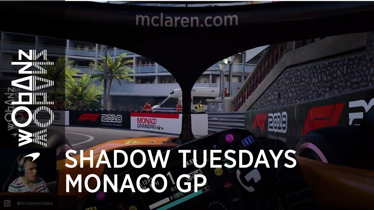 Monaco GP 2019 - eelvaade, McLaren
