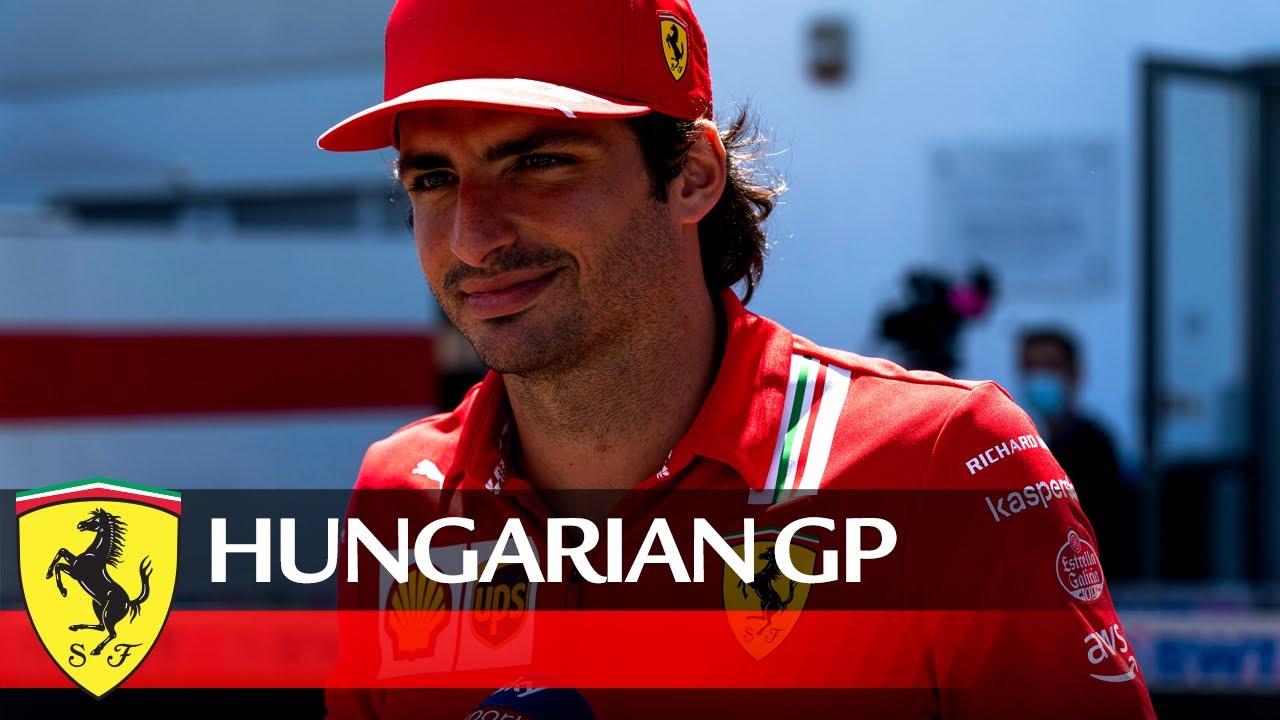 Sainzi ootused Ungari GP 2021 eelselt