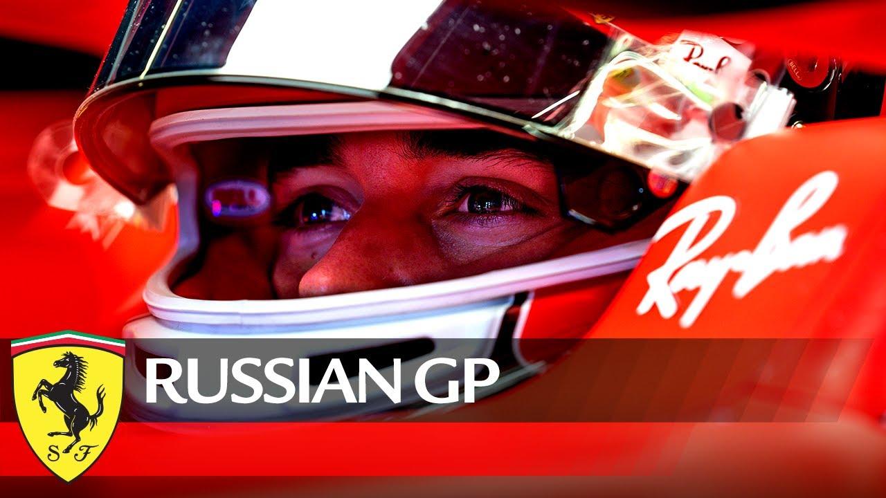 Ferrari meeskonna eelvaade Venemaa GP-le