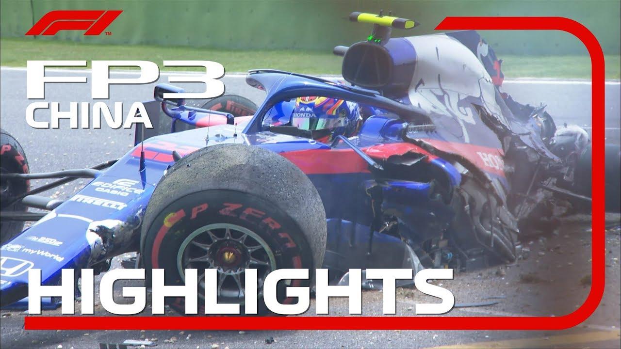 Hiina GP 2019 - kolmas vabatreening, ülevaade, Formula1