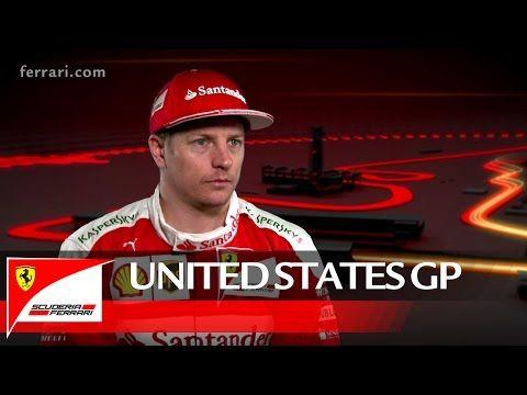 USA GP 2016 - eelvaade, Ferrari, Kimi Räikkönen