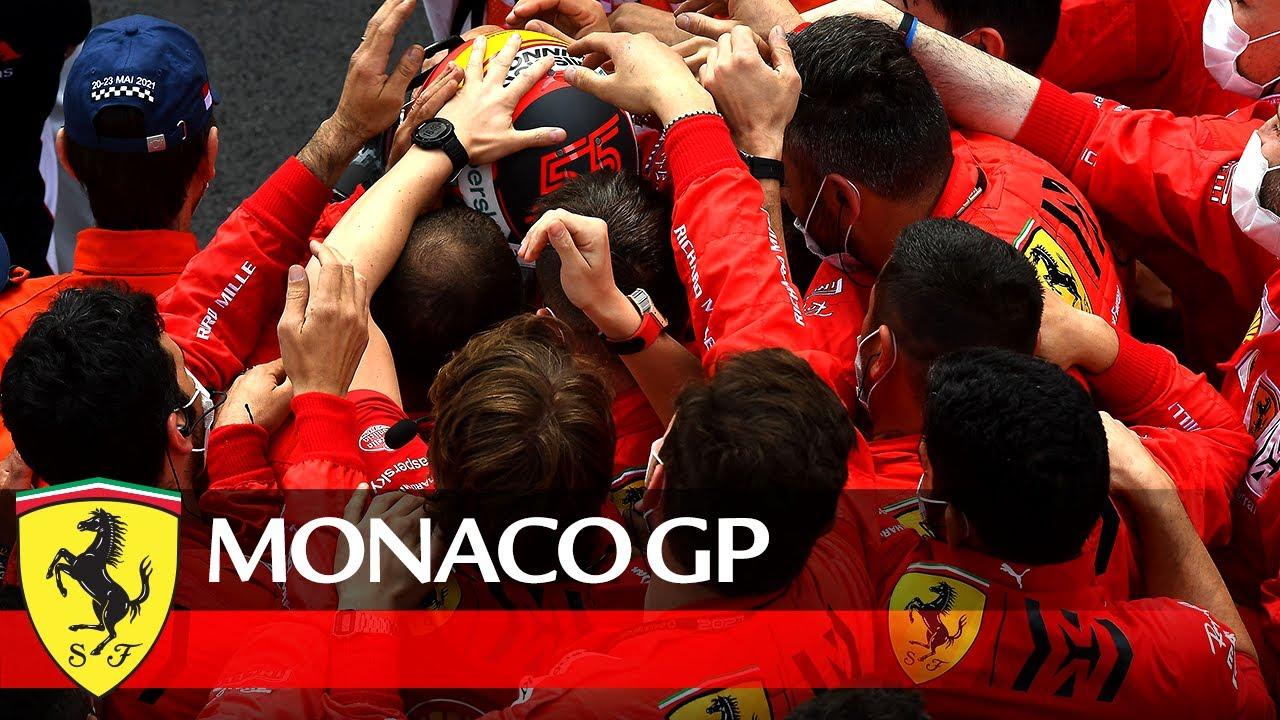 Ferrari meeskonna Monaco GP nädalavahetuse klipp