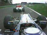 Belgia GP 2010 - Jenson Buttoni ja Sebastian Vetteli kokkupõrge