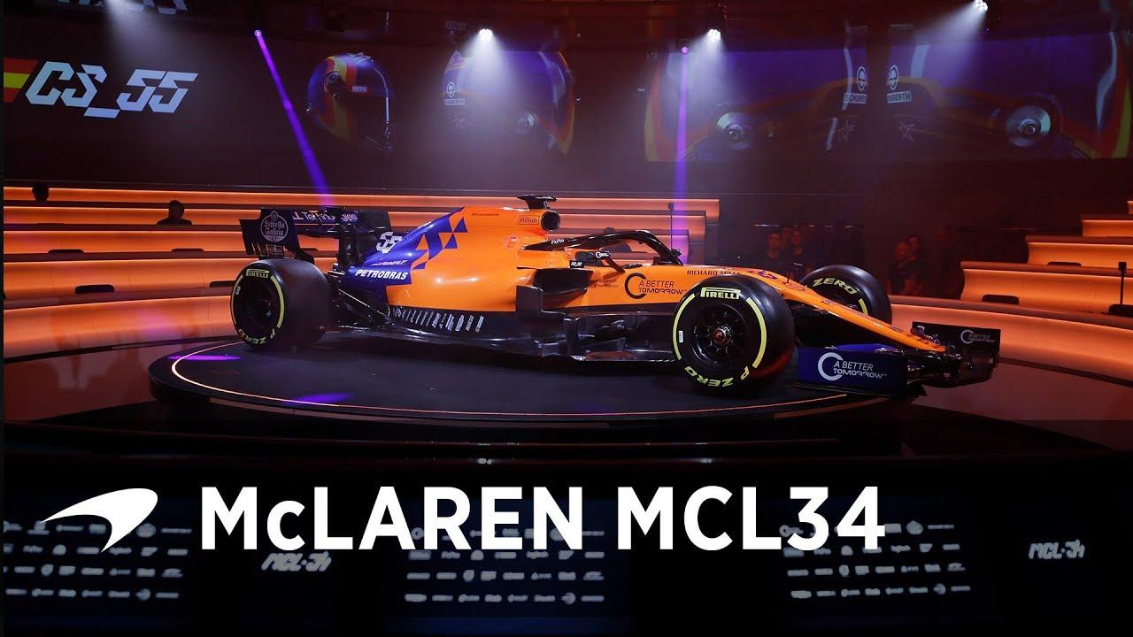Hooaeg 2019 - McLaren MCL-34 esitluse video